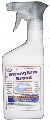 StrongArm Fluid Preservative Penetrant and Gun Oil