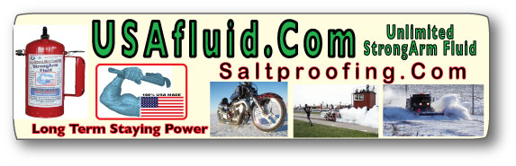 USA Fluid USED on Every bit of Conesville Ground and Racing Operations..