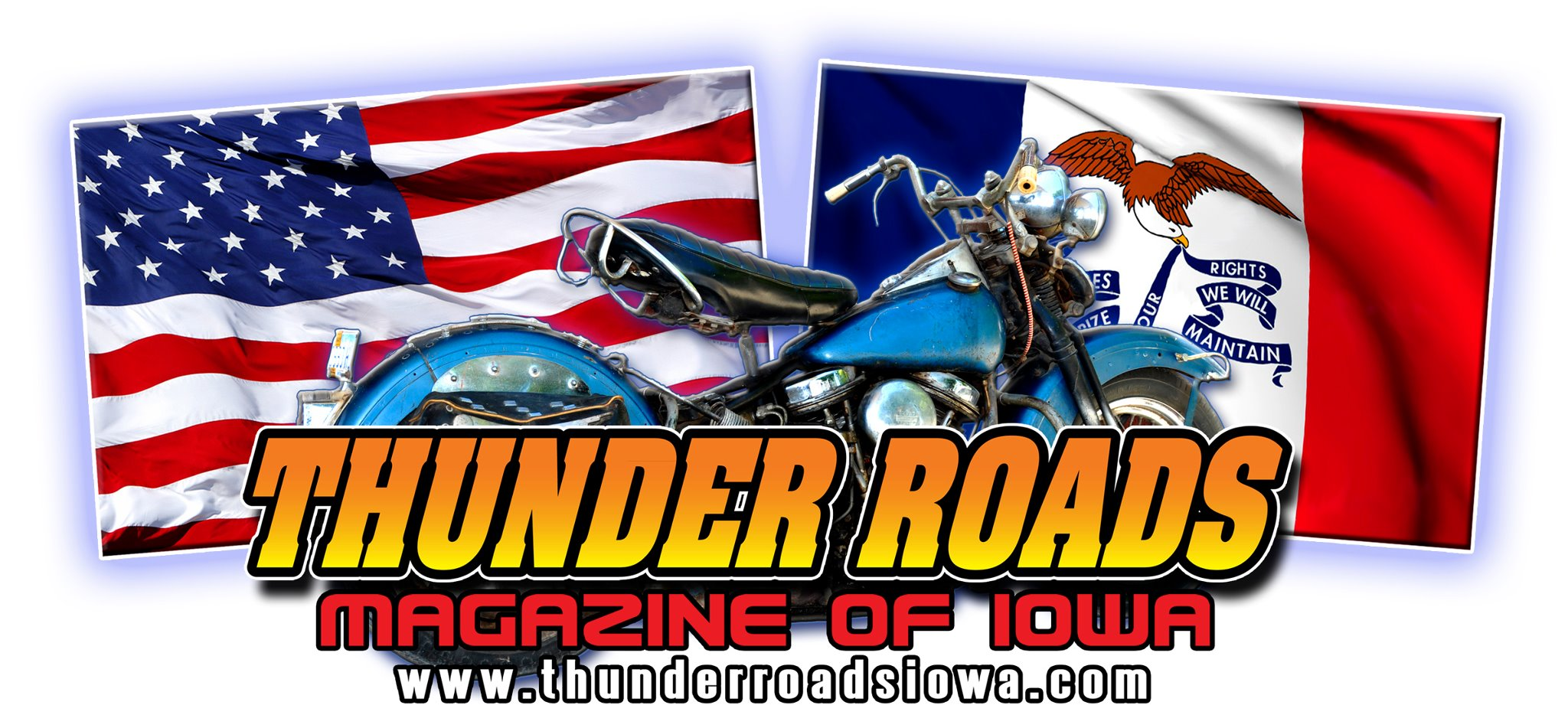 Thunder Roads of Iowa Magazine Logo