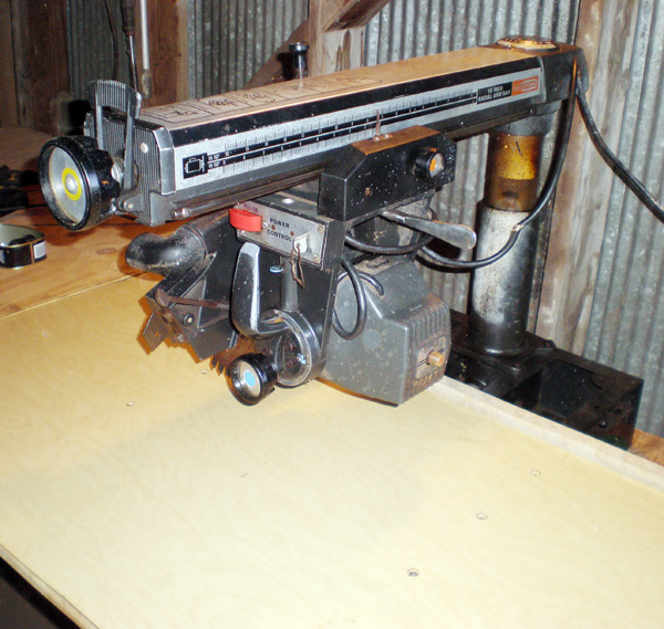 radial arm saw restoration with usa fluid the unlimited strongarm