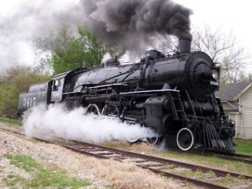 StrongArm Preserved Historic Steam  Train Engine..